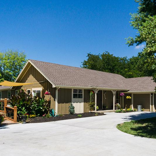 clover care home elderly long term care facility