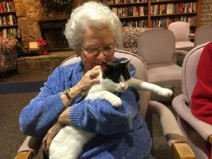 Clover Care Home Senior Memory Care kansas city pets for life