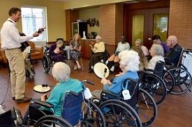 music therapy senior retirement home