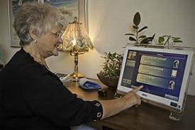 senior-residence video monitoring safety program